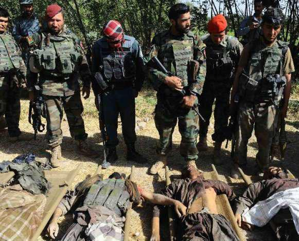 Photo of مقتل 24 عنصرا من حركة طالبان الارهابية غربي أفغانستان