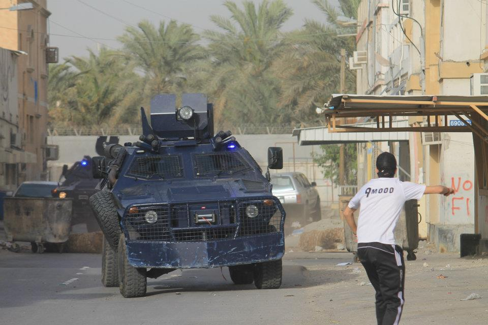 صورة مصادر: الجيش السعودي يشدد الحصار على العوامية ويقطع خدمة الانترنت عنها