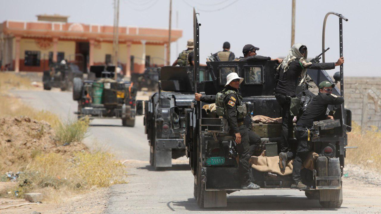 صورة انطلاق عملية امنية واسعة لتعقب خلايا داعش الارهابية شمال شرق ديالى