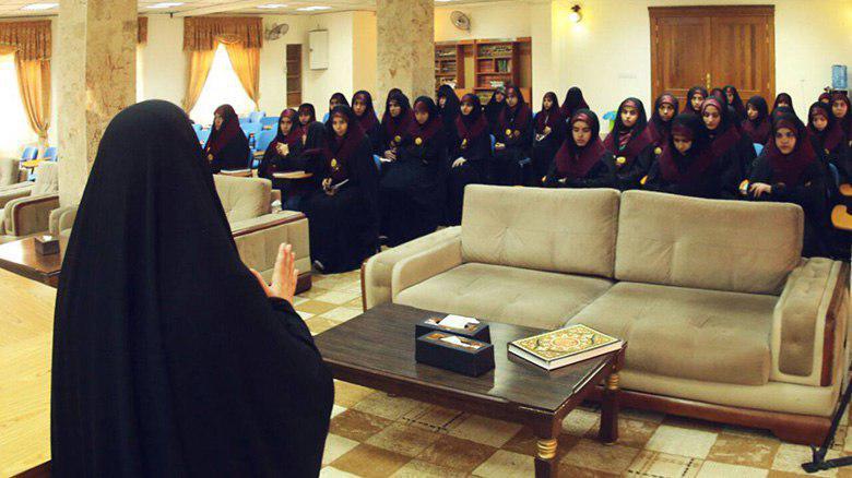 صورة العتبة الحسينية المقدسة تطلق  مشروعا لإعداد ممثلات عن العراق في المحافل القرآنية الدولية