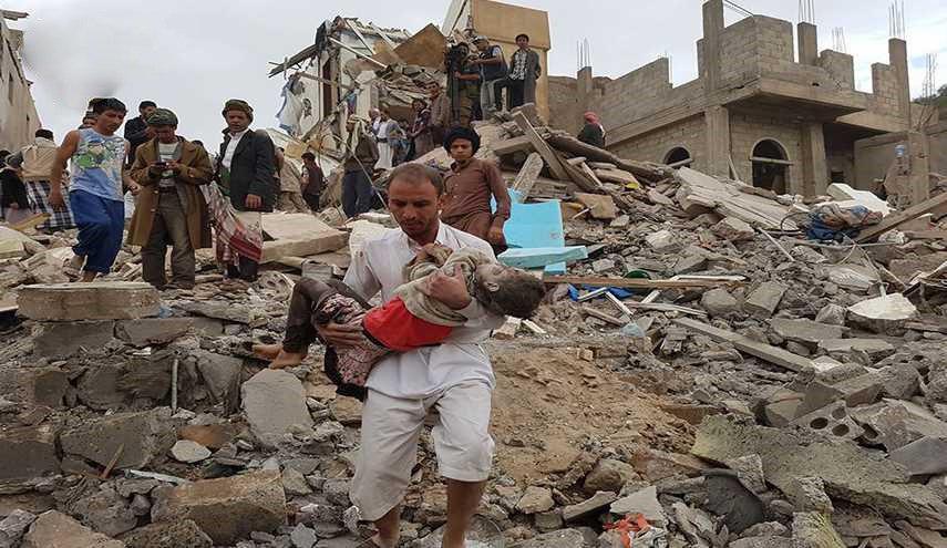 صورة العدوان السعودي يقر بالوقوف وراء مجزرة فج عطان بصنعاء