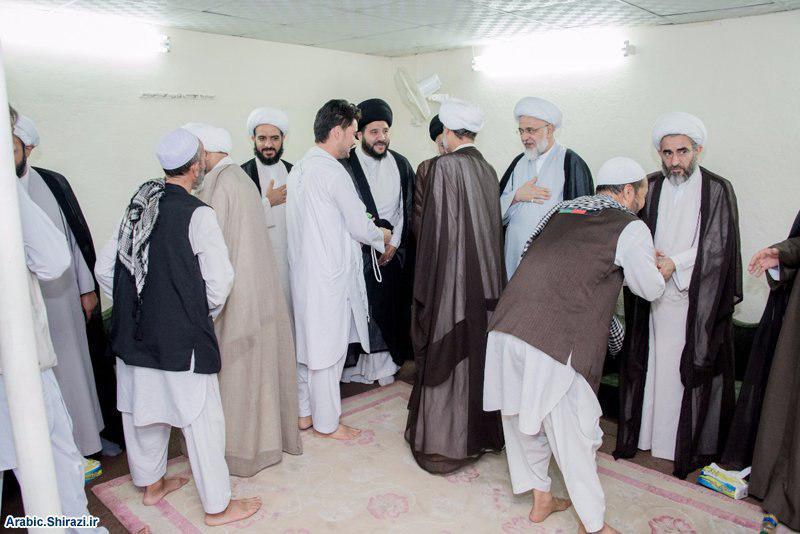 صورة بعثة المرجعية الشيرازية في مكة المكرمة تلتقي رئيس ديوان الوقف الشيعي وتستضيف وفود الحجّاج + صور