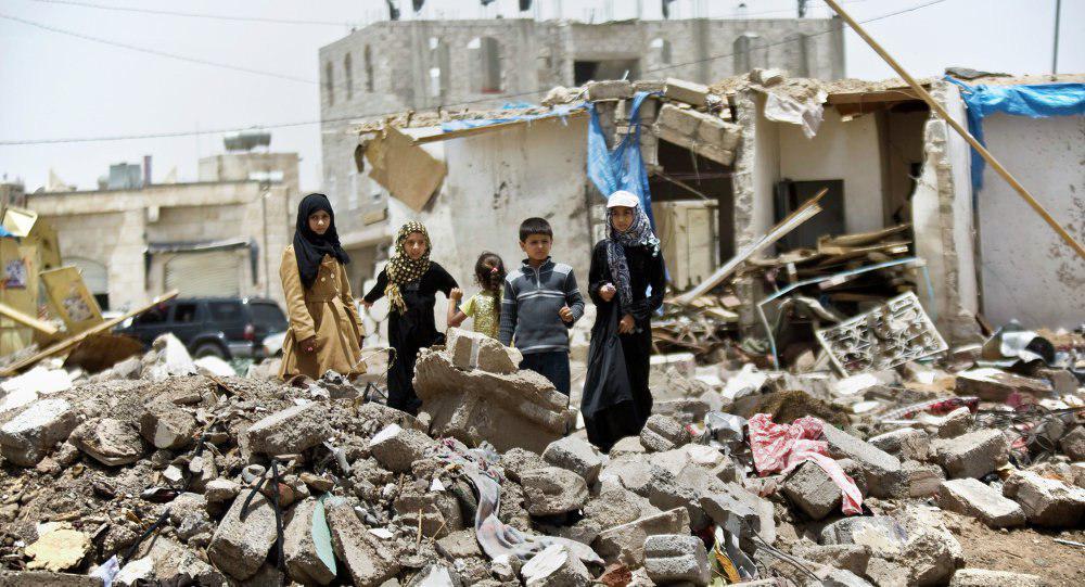 صورة العفو الدولية تكشف جرائم تحالف السعودية للعدوان علی اليمن