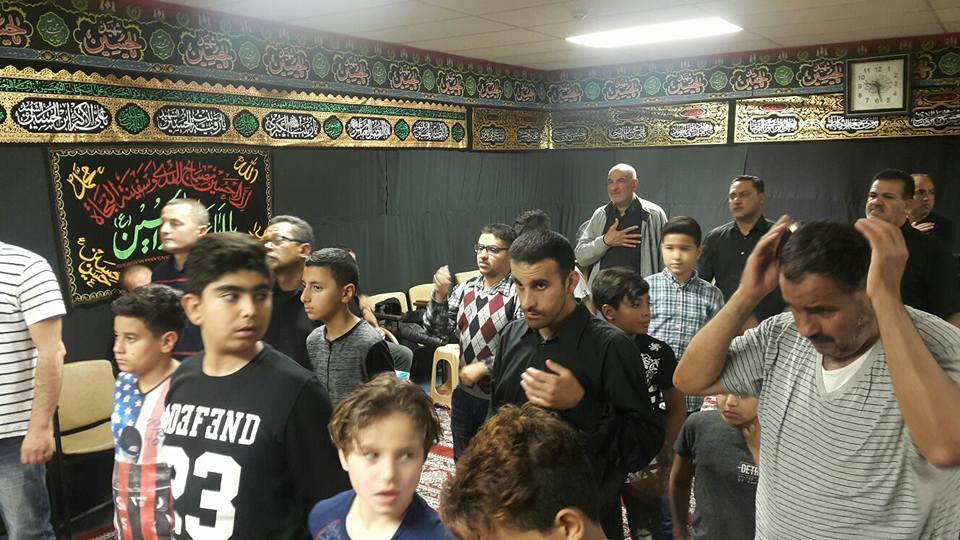 صورة بالصور .. مجالس العزاء الحسيني ا في حسينية الرسول الأعظم بهولندا