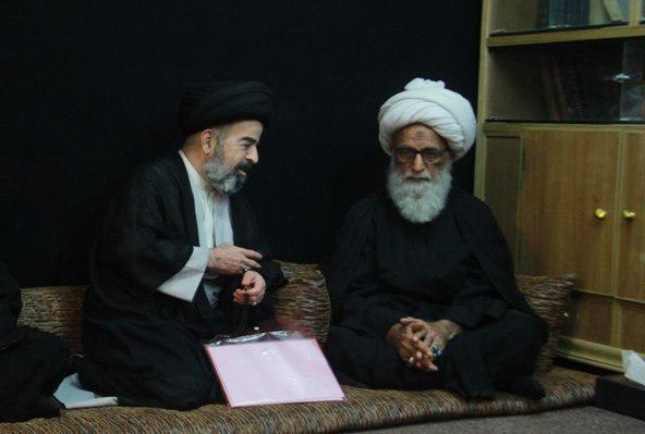 صورة المرجع النجفي يؤكد على توحيد الصف والكلمة لمواجهة مؤامرات أعداء الإسلام