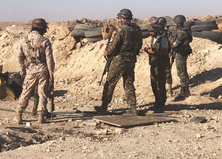 صورة الجيش السوري يواصل مطاردة فلول داعش الارهابي في دير الزور بعد السيطرة على احياء جديدة