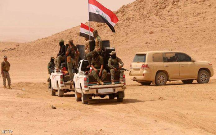 صورة حشد الانبار يعلن تأمين المناطق الصحراوية التي تربط الرطبة بكربلاء المقدسة