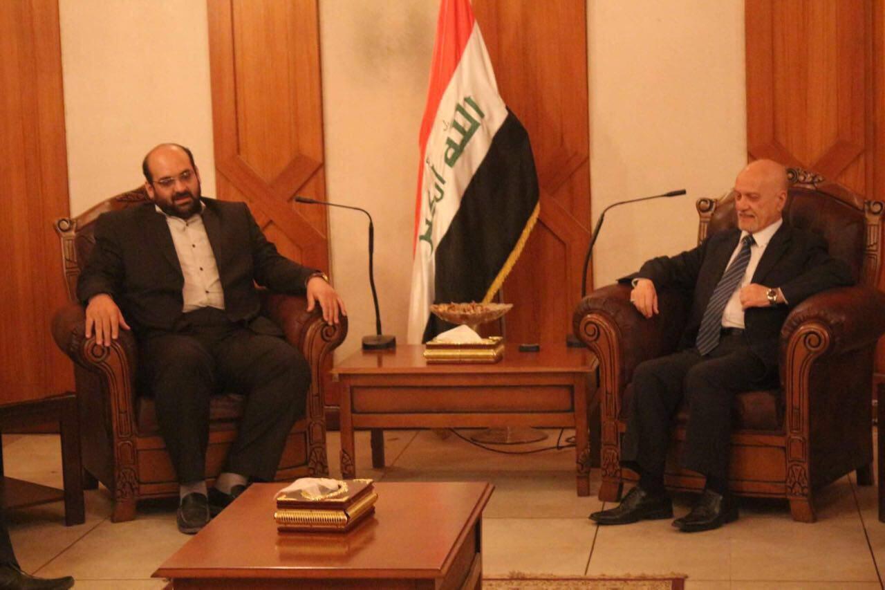 Photo of نائب الأمين العام لمنظمة العمل الإسلامي العراقية يزور امين عام حزب مستقلون