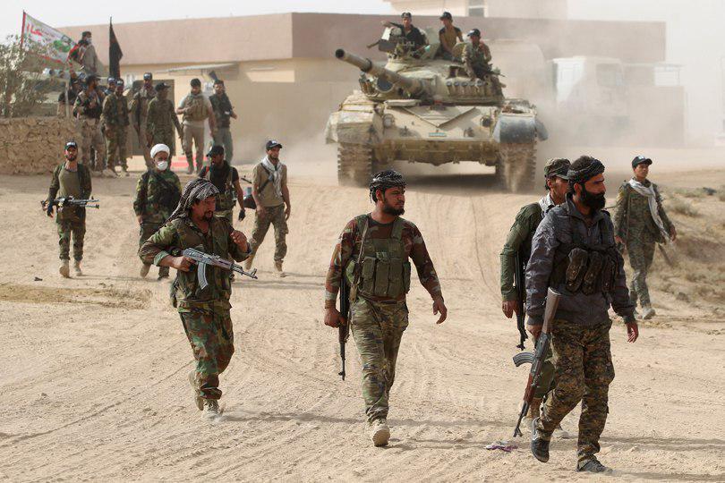 صورة القوات العراقية تصد هجوما لعناصر داعش الارهابي على جرف النصر