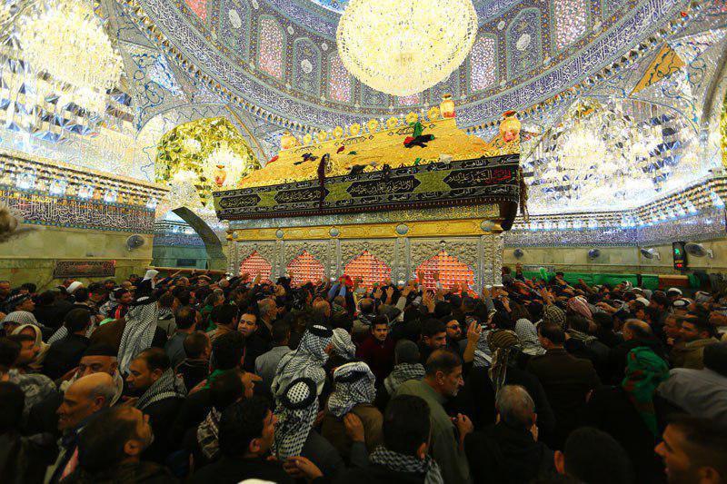 صورة العتبة العسكرية المقدسة: مليونا زائر احيوا ذكرى استشهاد الإمام العسكري عليه السلام