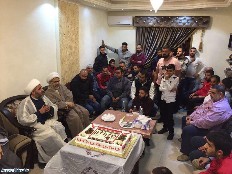 صورة الاحتفال بعيد الغدير الثاني بحارة صيدا في لبنان