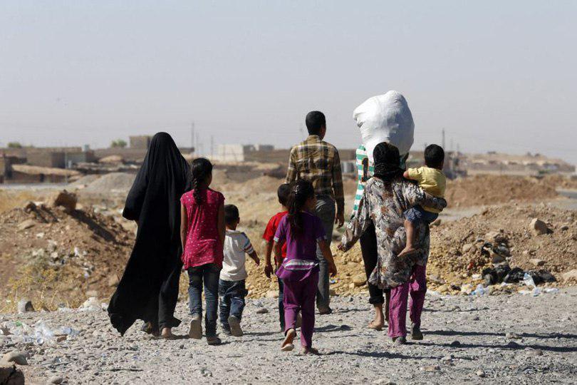 صورة وزارة الهجرة العراقية: عودة اكثر من 260 نازحا الى مناطقهم المحررة