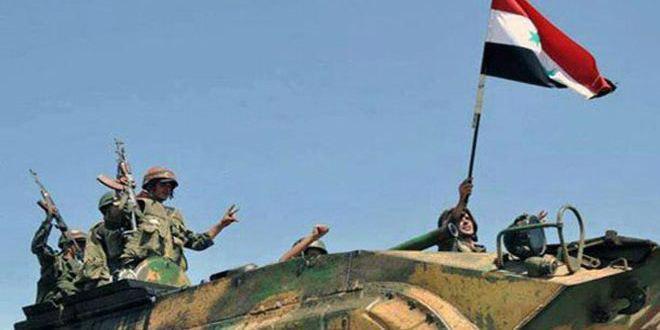 صورة الجيش السوري يستعيد قرية الظافرية في ريف حماة الشمالي الشرقي
