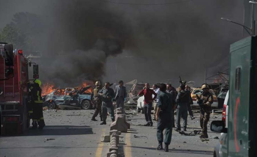 صورة مقتل 8 أشخاص بتفجير سيارة مفخخة جنوبي أفغانستان
