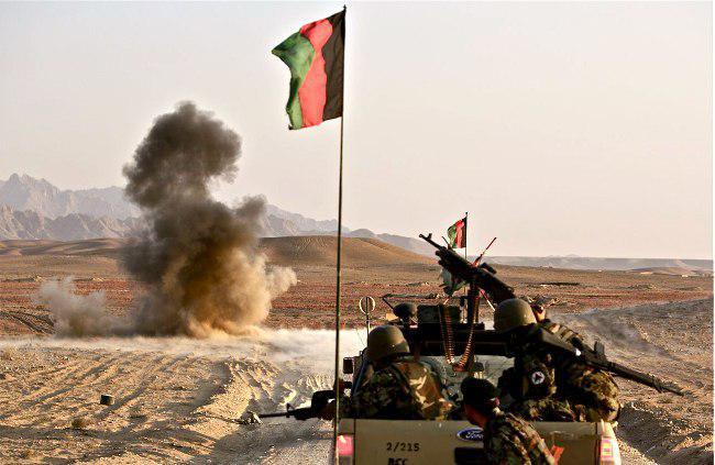 صورة وزارة الدفاع الأفغانية تعلن مقتل 72 مسلحا من طالبان وداعش الارهابتين