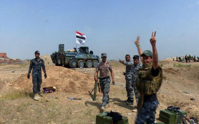 صورة الشرطة الاتحادية تفكك 99 عبوة ناسفة وتدمر مضافة لداعش الارهابي في صلاح الدين