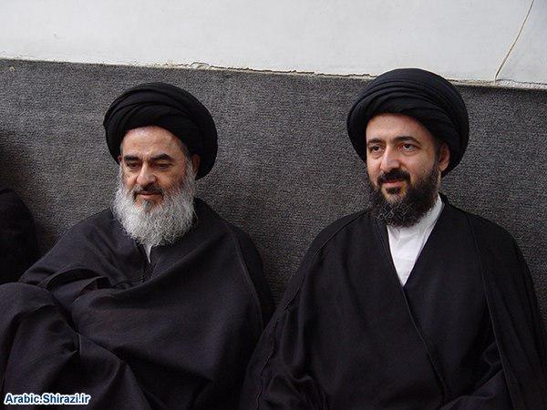 صورة فقيه أهل البيت آية الله السيد محمد رضا الشيرازي