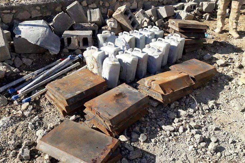 Photo of تدمير كهف لداعش الارهابي يحتوي مواد متفجرة جنوب قاعدة الاسد في الانبار