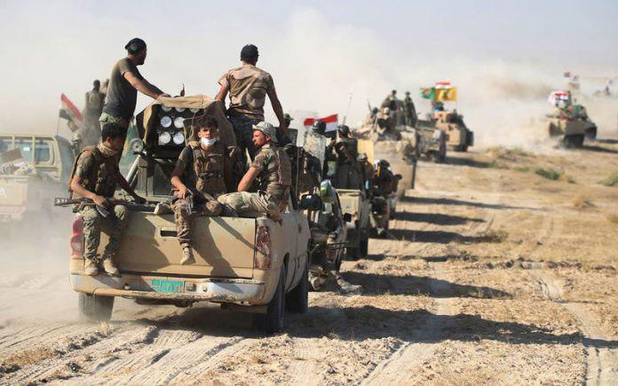 صورة الحشد الشعبي يدعو لإطلاق عمليات عسكرية عاجلة في كركوك لملاحقة فلول داعش الارهابي
