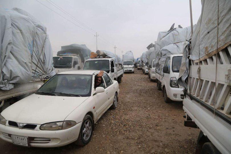 Photo of عودة عشرات العوائل العراقية النازحة لمناطقها في غرب كركوك