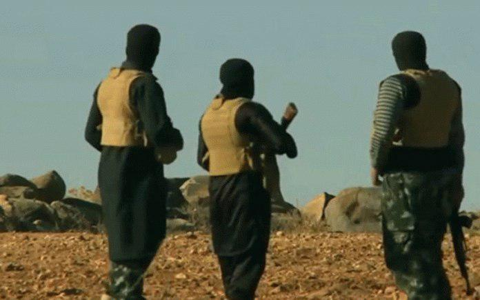 صورة الحشد الشعبي: بعض مجاميع داعش الارهابي تحصل على السلاح من كردستان