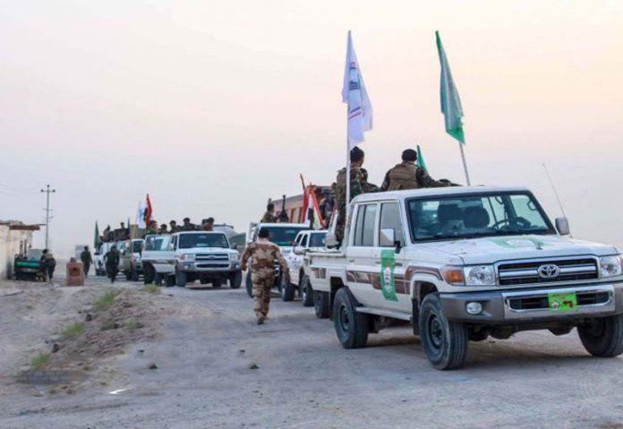 صورة الحشد الشعبي يعلن انتهاء تهديد العصابات الانفصالية على طريق بغداد كركوك