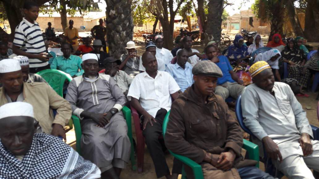 صورة مسلمو غينيا يحتفلون بذكرى ولادة الامام الحسين عليه السلام (صور)