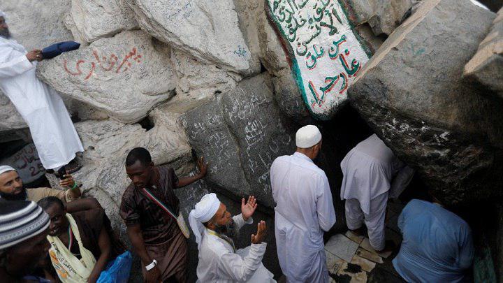 صورة السلطات السعودية  تقرر ايقاف الزيارة لغار حراء في مكة المكرمة