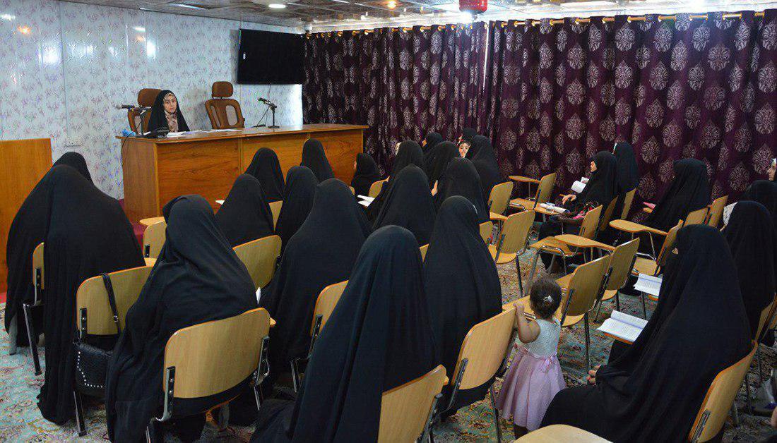 صورة مركز الارشاد الأسري التابع للعتبة الحسينية يقيم دورة لتفادي المشاكل الزوجية