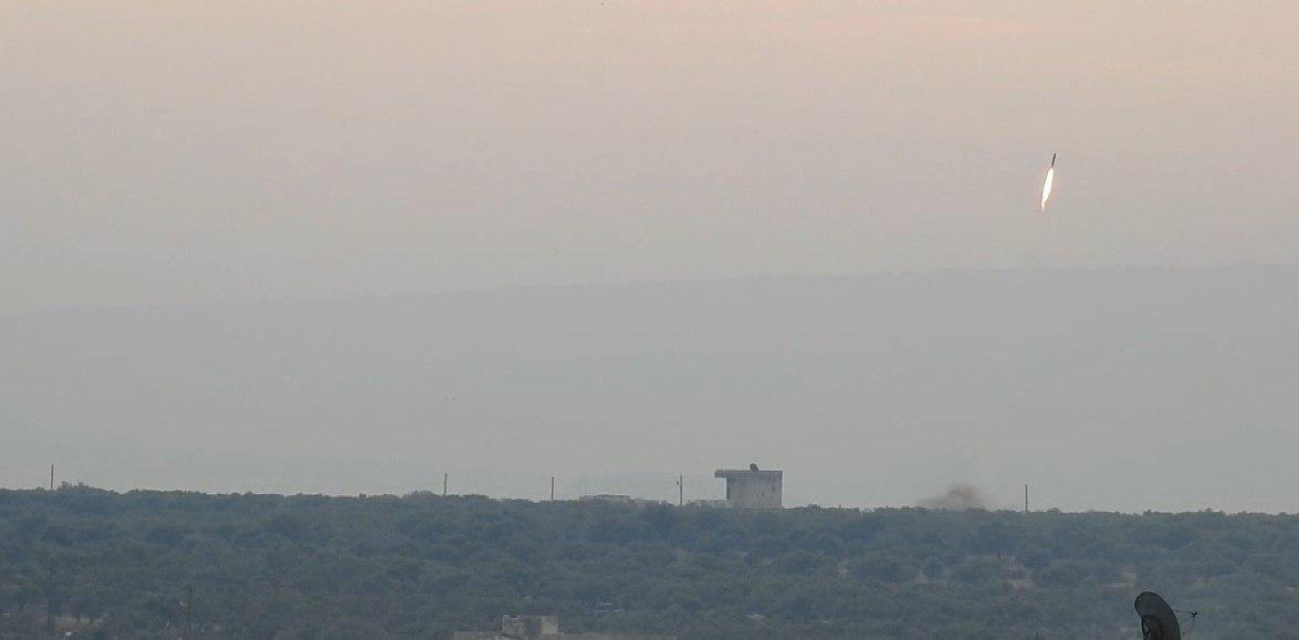 صورة إحباط محاولة تسلل للارهابيين غرب بلدة كفريا في سوريا