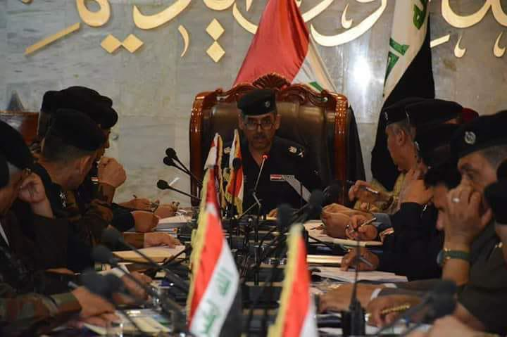 صورة قيادة شرطة كربلاء تضع خطة امنية موسعه بمناسبة عيد الفطر المبارك