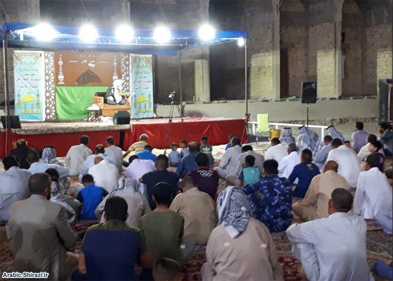 صورة نسائم رمضانية في صحن مزار الصحابي سلمان المحمّدي بمشاركة مختلف مكونات المدائن