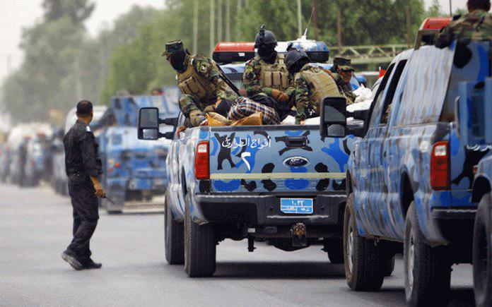 صورة العسكري: طريق بغداد – كركوك يحتاج إلى انتشار أمني لمنع الخروق الإرهابية