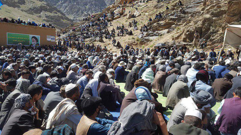 صورة مكتب المرجعية الشيرازية ينظم جولة تفقدية تبليغية في مدينة هزاره جات الافغانية