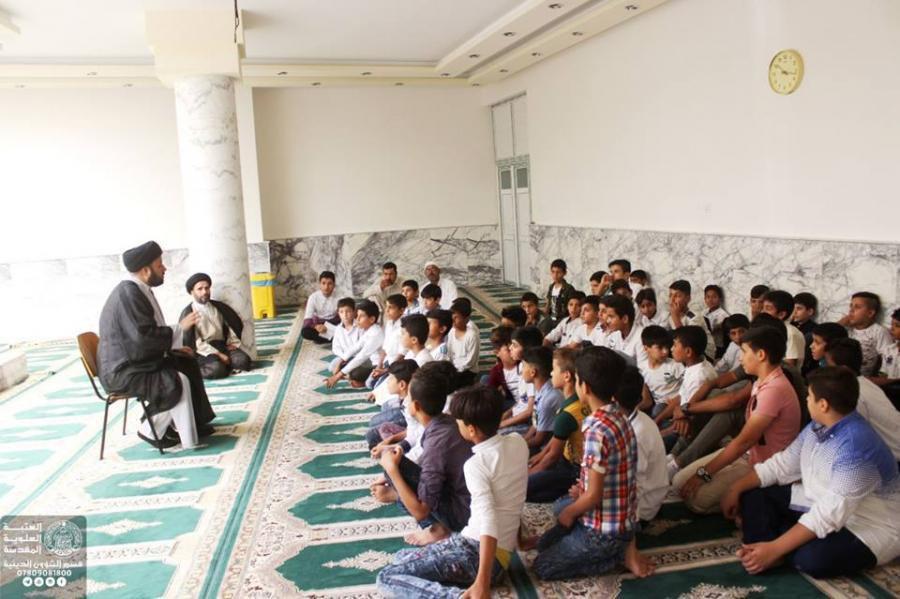 Photo of العتبة العلوية المقدسة تشرع باستضافة طلبة الدورات الصيفية في الجوامع والحسينيات
