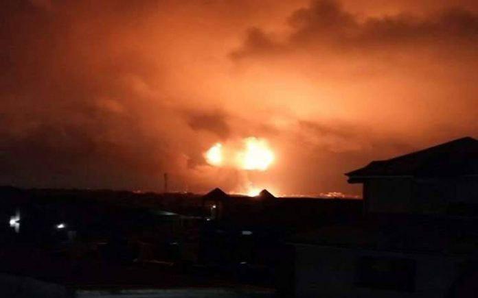 صورة ثلاثة انفجارات تهز محافظة كركوك العراقية
