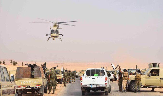 صورة الحشد الشعبي في العراق يؤمن طريق الحج البري وصولا الى منفذ عرعر الحدودي