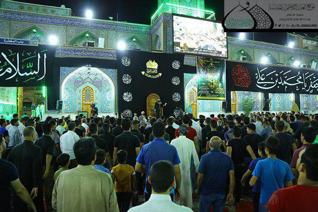 صورة الصحن الكاظمي الشريف يشهد برنامجاً خاصاً في ذكرى استشهاد الإمام الجواد عليه السلام
