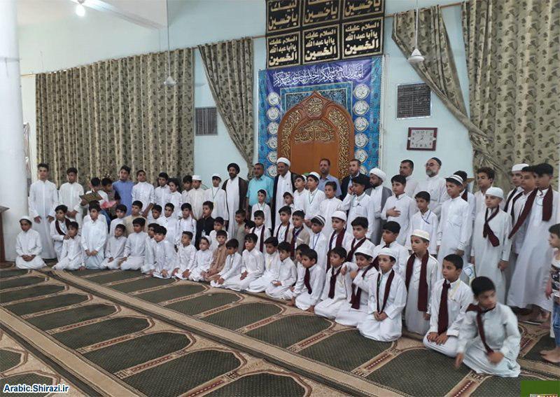 صورة مركز الإمام الصادق ينظم  مجموعة من الفعاليات الدينية لطلبة الدورة القرآنية في مزار سلمان المحمّدي