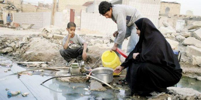 صورة حقوق الإنسان: ملوحة مياه البصرة تنذر بكارثة
