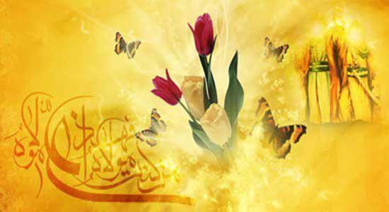 صورة سماحة المرجع الشيرازي: الغدير هو التقدم الحضاري والمعنوي