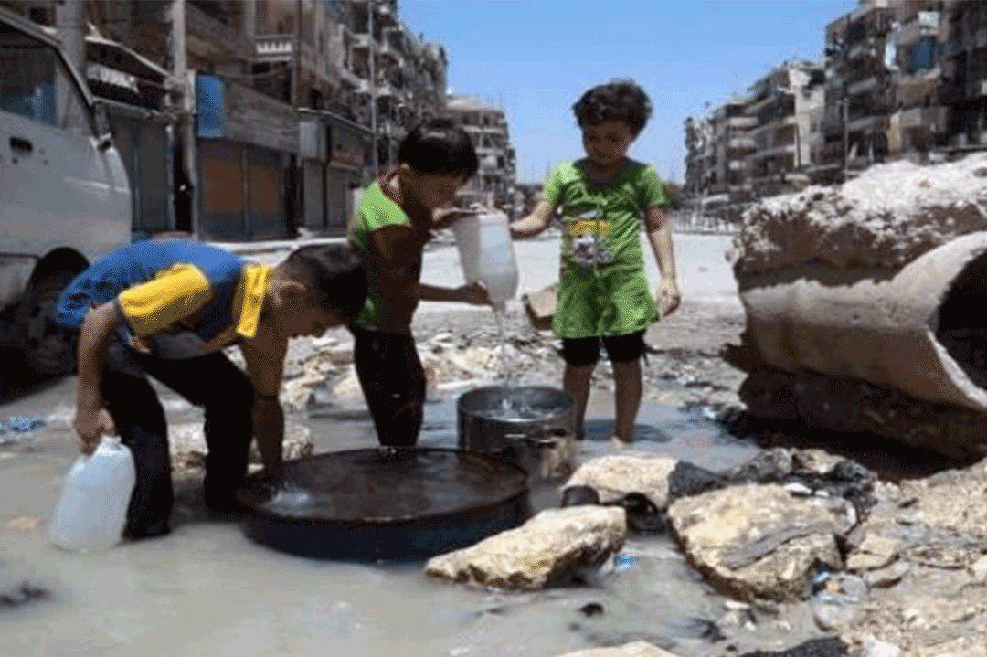 صورة المسلم الحر تطالب الامم المتحدة بالتحقيق في استهداف ابار المياه في اليمن