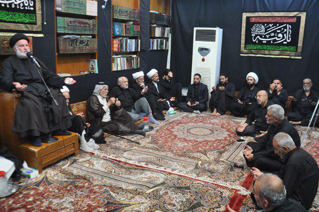 صورة مكتب المرجع الشيرازي في كربلاء المقدسة يختتم مجالس عزاء سيد الشهداء عليه السلام