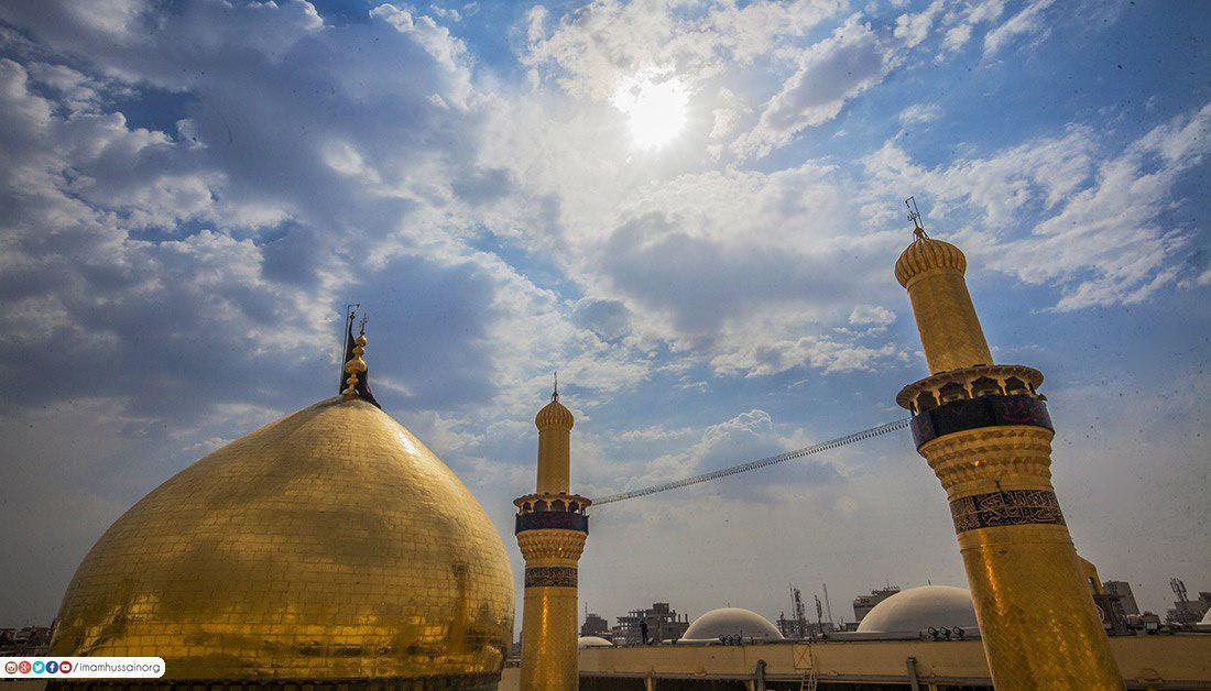 صورة صور حصرية لقبة حرم الإمام الحسين عليه السلام