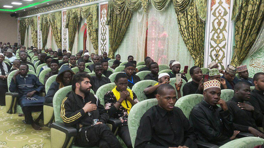 صورة الصحن الحسيني الشريف يحتضن المهرجان السنوي الاول الخاص بقارة افريقيا