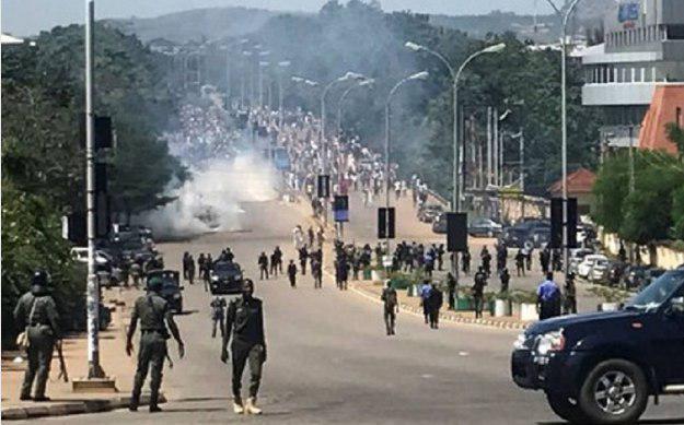 صورة مركز آدم يدين عنف قوات الأمن ضد المسلمين الشيعة في نيجيريا