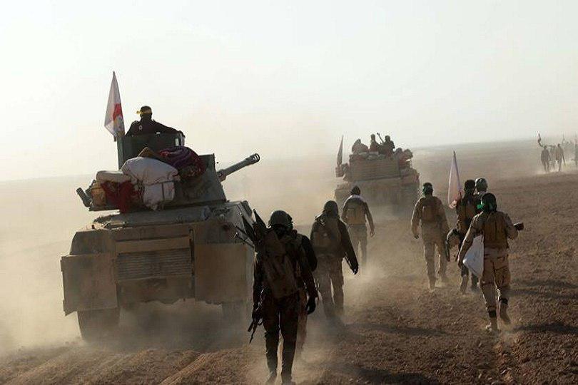 صورة قطعات الحشد تنتشر في ثلاث محافظات عراقية لتأمين زيارة شهادة الرسول الاكرم