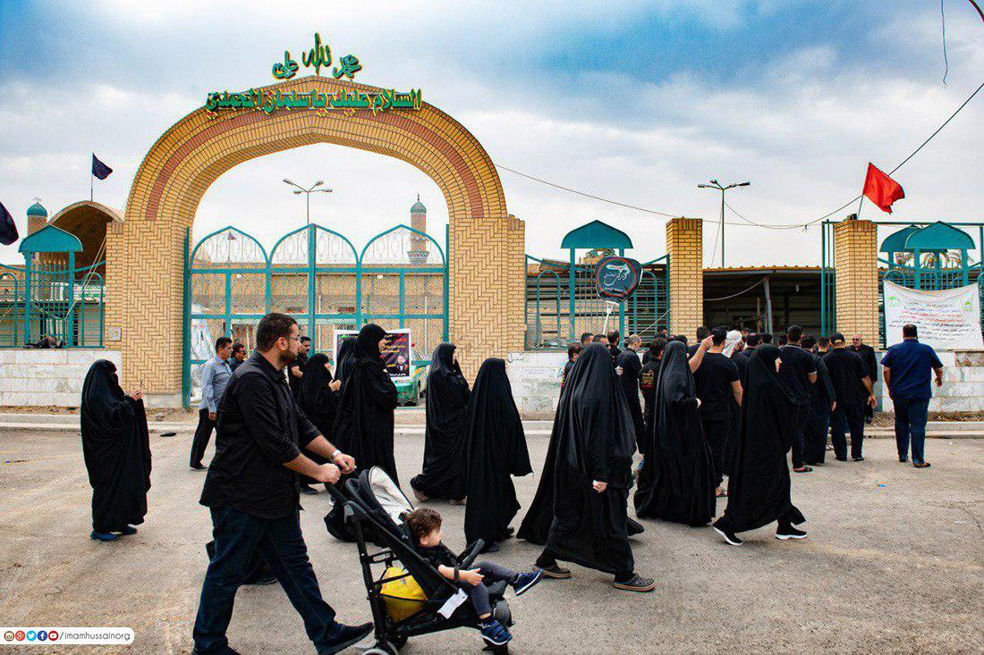 صورة بالصور .. مرقد الصحابي الجليل سلمان المحمدي في المدائن العراقية
