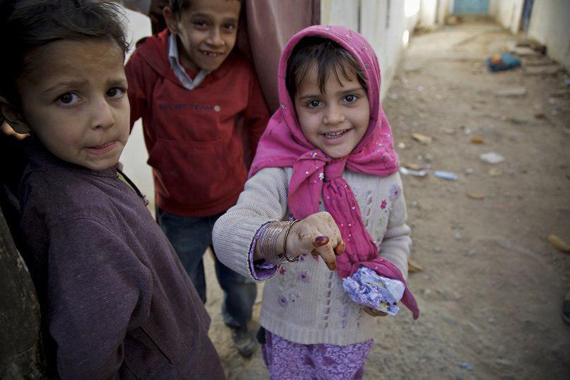 صورة اليونيسف: البرد يهدد مليون طفل في الشرق الأوسط وشمال أفريقيا