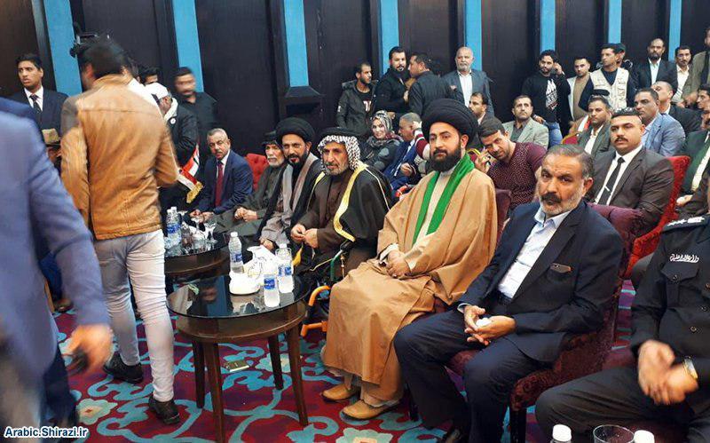 صورة مدير المركز الثقافي الإسلامي يشارك بحفل تأسيس الحشد المدني العراقي
